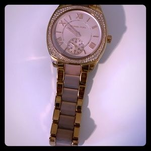 Michael Kors diamond face watch
